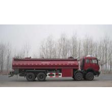 Óleo, campo, fratura, fluido, transporte, caminhão