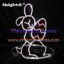 6inch Wholesale Rabbit and Easter Egg Crowns
