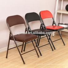 prix pas cher pliant en plastique chaise réunion train chaise