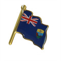 Printed Australia Flag Lapel Pin (LM10054)