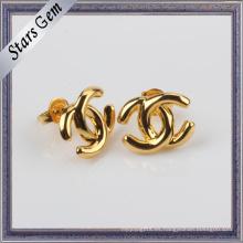 Venta al por mayor de moda de estilo 925 plata de oro amarillo plateado joyas