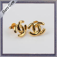 Bulk Sale Fashion Style 925 Silver Yellow Gold Plated Jewelry