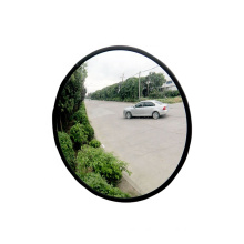 Portable anti-theft safety convex mirror with PMMA mirror face