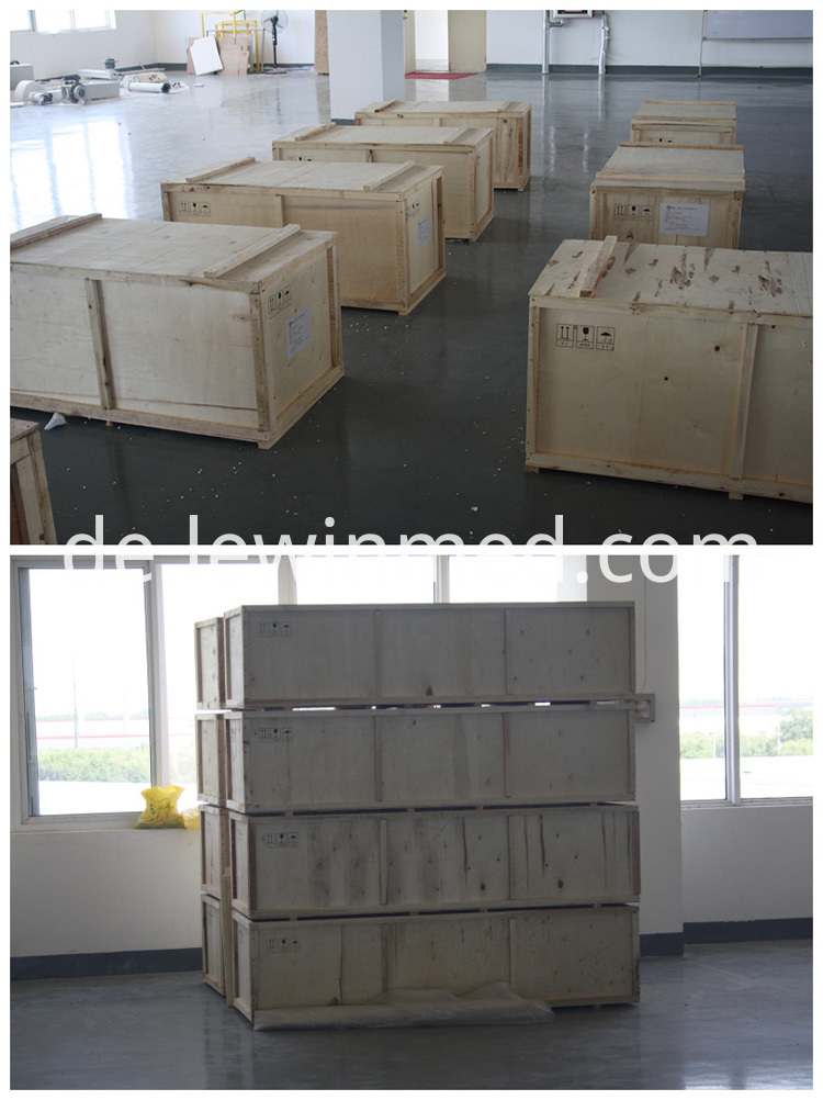 Plywood cases transport