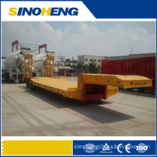 Two Axles Low-Plate Semi-Trailer for Truck or Machine