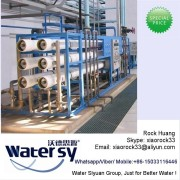 Island Salt Water Desalination Plant with RO Device