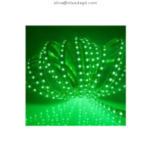 Security green Flexible smd 5050 5m rgb waterproof led strip light