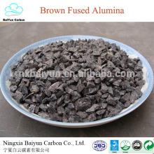 BFA / Alumine fondue marron pour produit réfractaire 95% oxyde d'aluminium al2o3