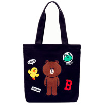 Light weight Tote bag Cartoon Letters for Women