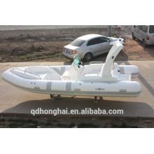 Bateau d'inflataboe de RIB580C avec ce console bateau caoutchouc bateau marine