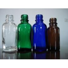 Atornillan Tubuler botella de vidrio para gotero (18-400)