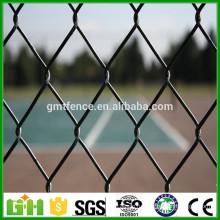 Оптовая цена Оцинкованная и покрытая ПВХ завязка цепи, алмазная сетка 50х50 мм (Производитель Anping)