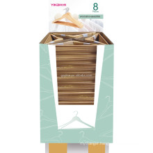 Wholesale used shirt and pants wooden clothes hanger made in China
