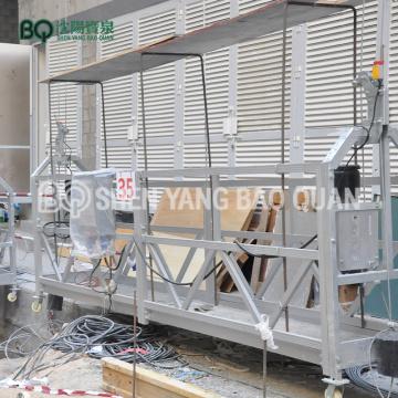 Plataforma de trabajo de 6 m Plataforma suspendida 800 kg