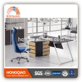 DT-20 wooden office desk stainless steel table base office executive desk