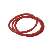 Silicone Rubber O Ring Seals Red
