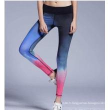 Femmes Legging Mode Gradient Changer Gros Legging