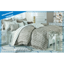 5 Pieces Cotton Print Duvet Cover Set