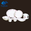 Heat Resistant Opal Glassware-44PCS Dinner Set