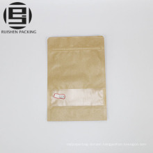Kraft paper stand up pouches packaging