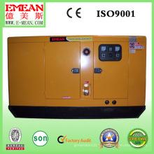 8 кВт-120 кВт, водяное охлаждение, Бесшумный, двигатель weichai серии, Тепловозный комплект генератора