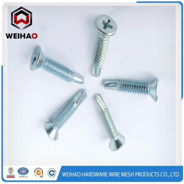 Best Quality for Hex Head Self Drilling Screw Painted self drill screw with EPDM washer for roof supply to Tuvalu Factory