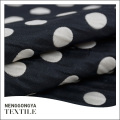 Oem personalizado Diferentes tipos de tela de lunares jacquard de moda
