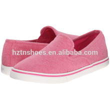 Low Price Wholesale Canvas Shoes 2016 Ladies New Model Injection Casual Footwear