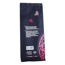Feijão de café compostável personalizado Craft Paper Bag