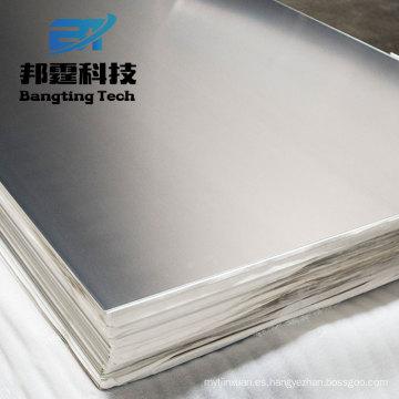 6061 6063 aluminio placa de aluminio templado grado 3003 o