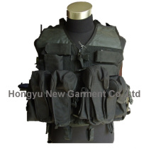 Army/ Police Black Military Equipment Tactical Vest (HY-V045)