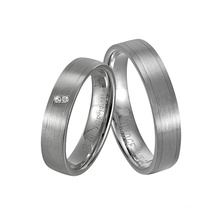 O Rings Pricious Friend′s Wedding Silver Ring for Couple Gift