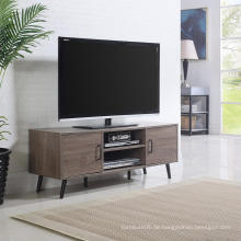 Eiche rustikale Fernsehstand-Möbel mit den festen Beinen