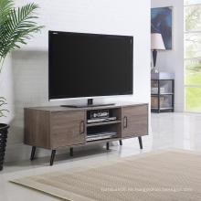Muebles rústicos de roble para mueble con patas sólidas