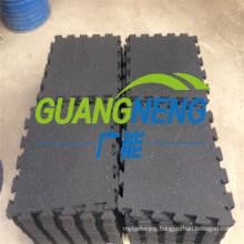 15mm Thick Interlocking Gym Mats/Gym Rubber Flooring/Gym Flooring Mats