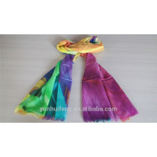 Colorful printed pashmina scarf for wholesale