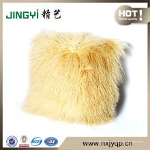 Cojines de cojín de piel de oveja mongol tibetanos al por mayor