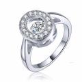 New Fashion 925 Silver Jewelry Dancing Diamond Micro Setting