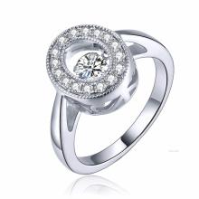Новые моды 925 серебряных ювелирных танцев Diamond Micro настройки