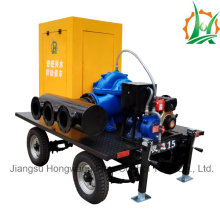 Diesel Engine Drive Double Suction Split Case Big Flow Pump