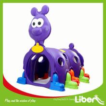 2015 nouvelle conception de haute qualité playground coulisse de plastique pour enfants en intérieur Garantie de qualité Choix du fournisseur