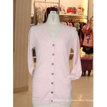 schöne Frauen Kaschmir-Pullover