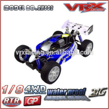 VRX Racing new design Body shll,1/8 scale rc model car,4WD nitro powered rc buggy