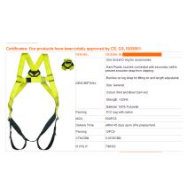 Harnais de ceinture de sécurité réglables corps entier de haute résistance pour la vente