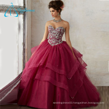 Beading Crystal Tiered Customize Your Own Quinceanera Dress