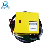 Medidor de dispensador de combustible mini móvil mecánico DC