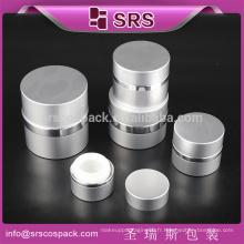 Petite 7ml 15ml 20ml 30ml 50ml Crème de protection de la peau et Rounld Jambières de qualité en aluminium à haute qualité pour vente