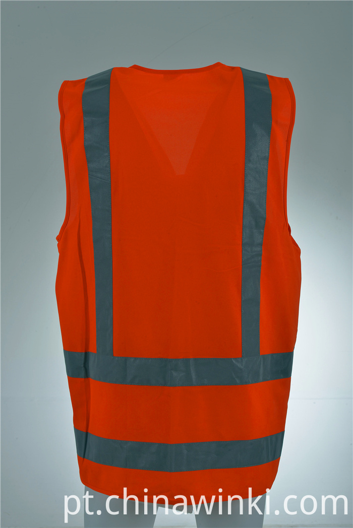 orange safety waist