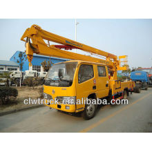 DFAC 14-16m camión de plataforma de trabajo