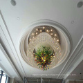 Good Quality White Modern Decorative Hotel Project Crystal Chandeliers